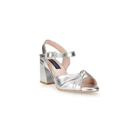 Sandalias color plata