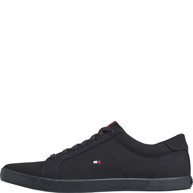 Zapatillas con cordones Tommy Hilfiger negras
