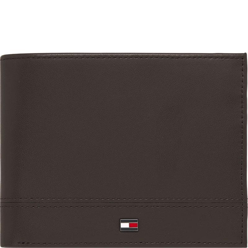 Billetera de hombre Tommy Hilfiger en marrón