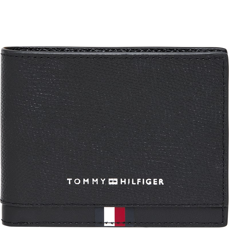 Billetera de hombre Tommy Hilfiger negra