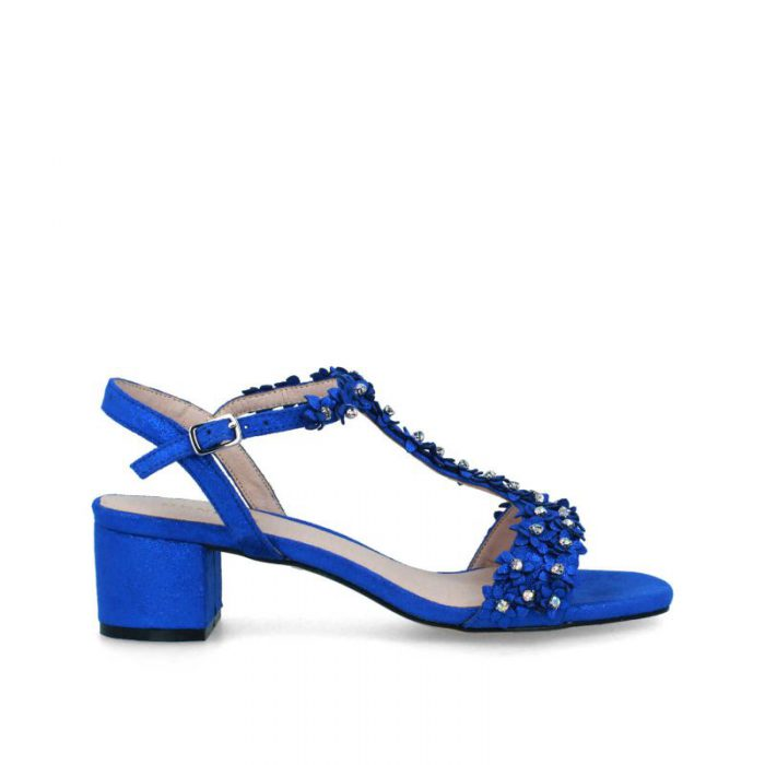 sandalias azules membur