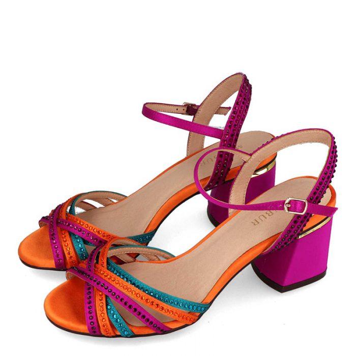 sandalia de varios colores membur