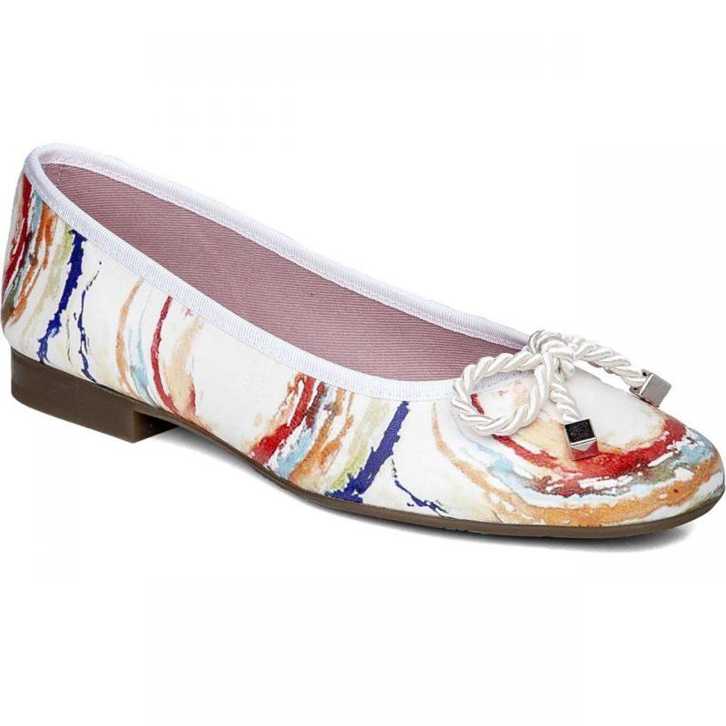 Zapato plano con lazo Callaghan
